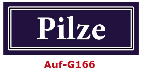 Pilze Etiketten 40 x 16 mm aus stabiler Vinylfolie, witterungsbeständig und wasserfest
