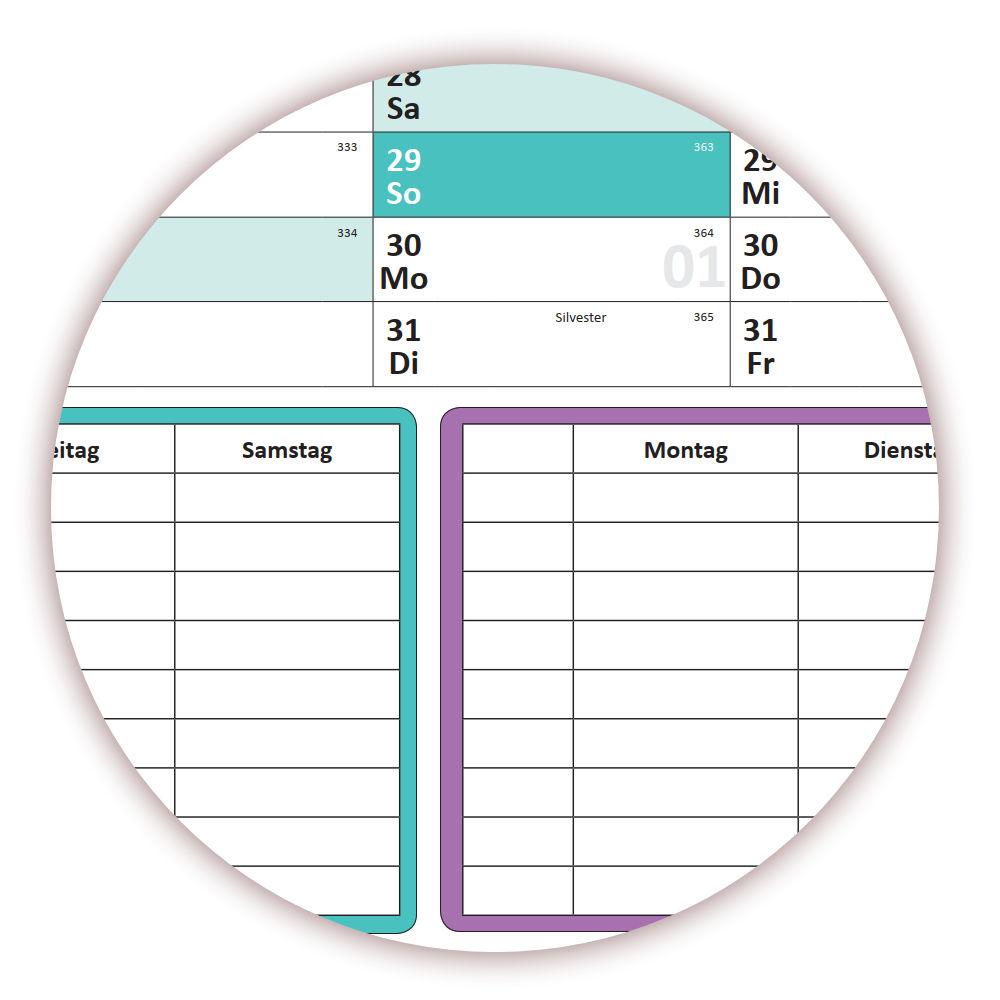 Jahreskalender werden gerollt versendet Folienstift schwarz Schuljahreskalender 2019//20 DIN B1 nass abwischbar 13 Monate Wandkalender Kalender gerollt August 2019 bis August 2020
